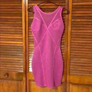 Forever 21 Dresses - Forever 21 tight purple party dress SZ S NEW